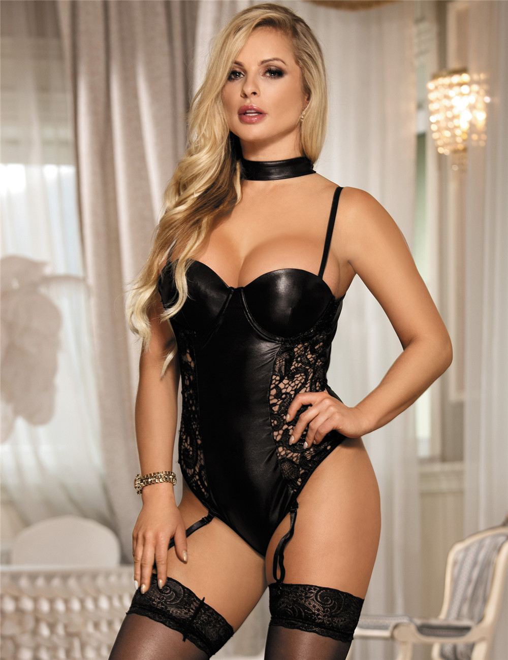 Womens Leather Lingerie 30